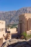 Fuerte de Nakhl, Omán Imágenes de archivo libres de regalías