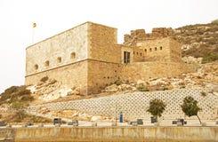 Fuerte de Navidad (julfortet), Cartagena Royaltyfria Foton