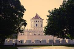 Fuerte de Phra Sumen, parque de Santichaiprakarn foto de archivo libre de regalías