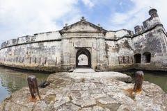 Fuerte de San Fernando de Bocachica Fotos de archivo libres de regalías