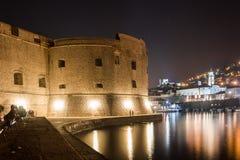 Fuerte de San Juan y del puerto viejo dubrovnik Croacia Imágenes de archivo libres de regalías