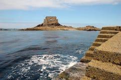 Fuerte del pirata en Saint Malo, Bretaña Fotografía de archivo