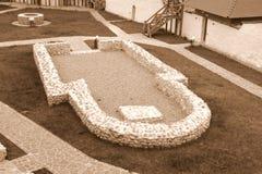 Fuerte en el pueblo Feldioara, construido por los caballeros teutónicos hace 900 años, en Transilvania, Rumania Fotografía de archivo