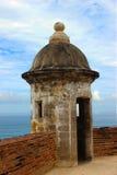 Fuerte en viejo San Juan Puerto Rico Fotos de archivo libres de regalías