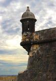 Fuerte en viejo San Juan Puerto Rico Fotos de archivo