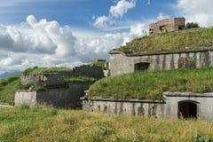 Fuerte Gorazda montenegro Fotografía de archivo