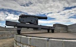 Fuerte Henry National Historic Site Cannon Fotografía de archivo