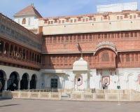 Fuerte interior de Junagarh fotos de archivo libres de regalías