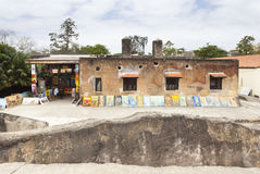 Fuerte Jesús en Mombasa, Kenia Imagen de archivo
