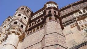 Fuerte Jodhpur Rajasthán la India de Mehrangarh Foto de archivo