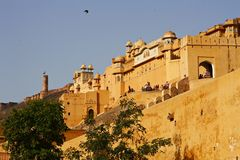 Fuerte la India de Jaipur Foto de archivo libre de regalías