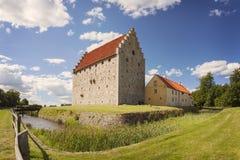 Fuerte medieval Suecia de Glimmingehus Imagenes de archivo