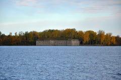 Fuerte Montgomery, en el norte del estado Nueva York, los E.E.U.U. Fotografía de archivo