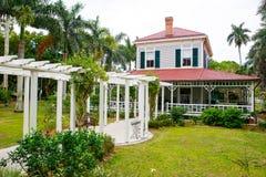 FUERTE MYERS, LA FLORIDA 15 DE ABRIL DE 2016: Fuerte Myers Florida, Thomas Edison Foto de archivo libre de regalías