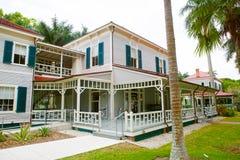 FUERTE MYERS, LA FLORIDA 15 DE ABRIL DE 2016: Fuerte Myers Florida, Thomas Edison Imagen de archivo libre de regalías