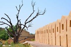 Fuerte Nakhargar en la India Jaipur una construcción histórica Fotos de archivo