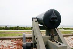 Fuerte naval de la guerra civil Foto de archivo libre de regalías
