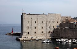 Fuerte St John, Dubrovnik Foto de archivo libre de regalías