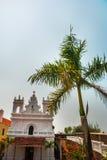 Fuerte Tiracol goa La India Fotos de archivo libres de regalías