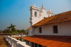 Fuerte Tiracol goa La India Imágenes de archivo libres de regalías