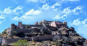 Fuerte Udaipur Rajasthán la India de Kumbhalgarh fotos de archivo libres de regalías