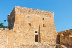 Fuerte veneciano de Kazarma Sitia, Crete foto de archivo