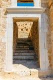 Fuerte veneciano de Kazarma Sitia, Crete imágenes de archivo libres de regalías