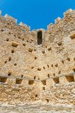 Fuerte veneciano de Kazarma Sitia, Crete imagen de archivo libre de regalías
