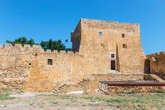 Fuerte veneciano histórico de Kazarma Sitia, Crete fotos de archivo