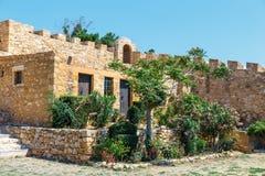 Fuerte veneciano histórico de Kazarma Sitia, Crete fotografía de archivo libre de regalías
