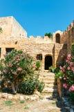 Fuerte veneciano histórico de Kazarma Sitia, Crete imagen de archivo libre de regalías