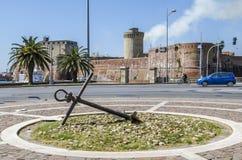 Fuerte Vicchia, Livorno Fotos de archivo