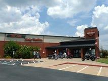 Fuerte viejo Harley Davidson Retail Store Exterior Foto de archivo libre de regalías
