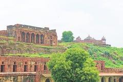 Fuerte y complejo masivos Uttar Pradesh la India de Fatehpur Sikri Fotografía de archivo