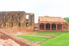 Fuerte y complejo masivos Uttar Pradesh la India de Fatehpur Sikri Foto de archivo
