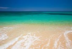 Fuerteventura, παραλία υποζυγίων Στοκ φωτογραφίες με δικαίωμα ελεύθερης χρήσης