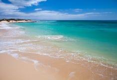 Fuerteventura, παραλία υποζυγίων Στοκ Εικόνα