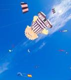 FUERTEVENTURA - 13. NOVEMBER 2011: DRACHEN-FESTIVAL Stockbild
