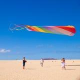 FUERTEVENTURA - 13 NOVEMBER: Het festival van de vlieger Royalty-vrije Stock Fotografie