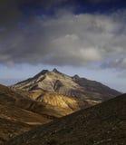 Fuerteventura. Landscape of Fuerteventura, Spain Stock Photo