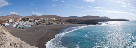 Fuerteventura - Ajuy - Panoramic view Stock Photo