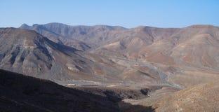Fuerteventura Barranco del Roque 1 Imagens de Stock Royalty Free