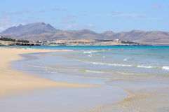 Fuerteventura beach Stock Photos