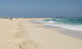 Fuerteventura beach Stock Photography