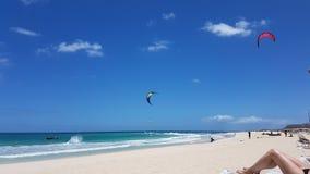 Fuerteventura beach Stock Photography
