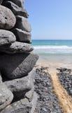 Fuerteventura Esquinzo beach 1. Beach south of the island Fuerteventura (Canary Islands Royalty Free Stock Images