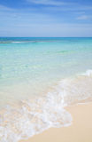 Fuerteventura, beautiful sandy beach Royalty Free Stock Image