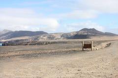 Fuerteventura Bergen` s mening Royalty-vrije Stock Fotografie