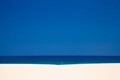 Fuerteventura Burrostrand Arkivfoto