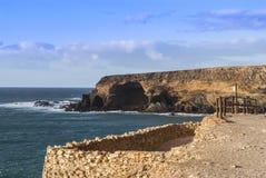 Fuerteventura - Caleta Negra in the north of Ajuy Stock Photos